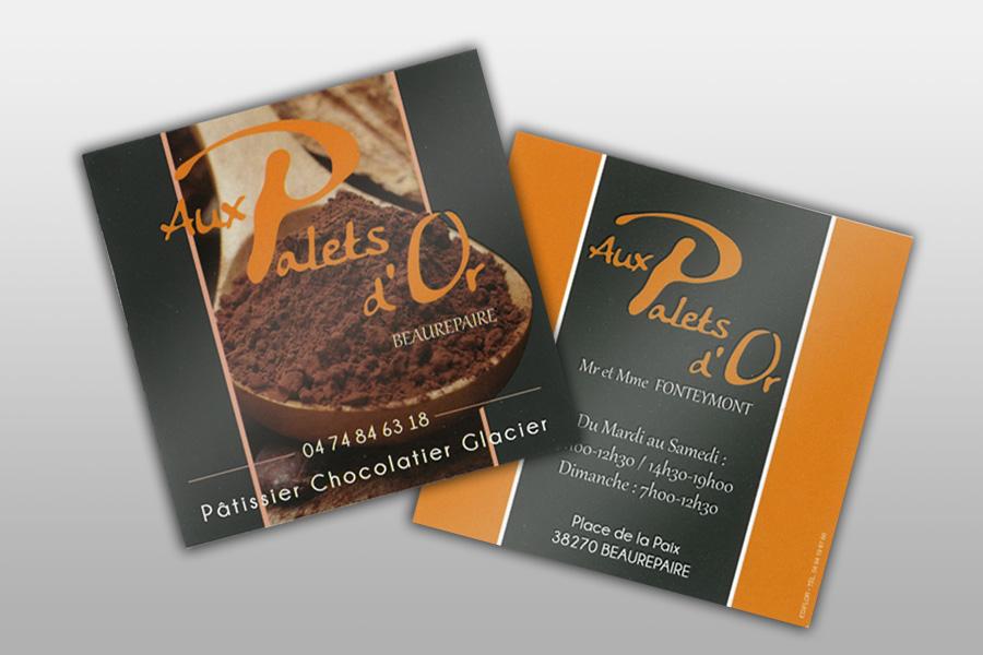 Cartes De Visite Pour Mtiers La Boulangerie Et Patisserie